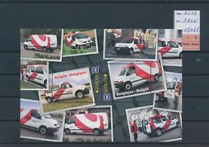LO05494 Belgium 2013 Europa Cept postal vehicles sheet MNH fv 11,46 EUR