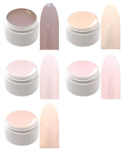 Pastell UV Led Farbgel Nude Color Gel Muse of Light Made in Germany MF-Set
