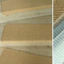 MITEX Treppenmatte Stufenmatte Sisal Bouclé fein Farbe 07 Chablis Naturfaser