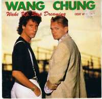 "Wang Chung Wake Up, Stop Dreaming Edit Vers 7"" Single Vinyl Schallplatte 7825"