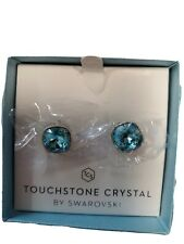 Touchstone Crystals by Swarovski Salt Water Earrings
