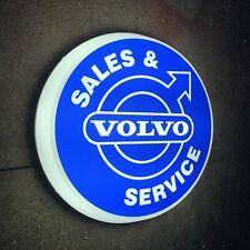 VOLVO SERVICE LED WALL LIGHT SIGN LOGO GARAGE AUTOMOBILIA TRUCK CAR XC40 S90 V60