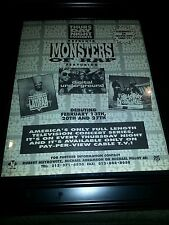 Monsters Of Rap Queen Latifah Digital Underground Naughty By Nature Rare Poster