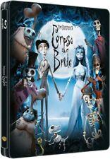 Corpse Bride [2005] (Blu-ray Region-Free)~Steelbook~Ne w & Sealed
