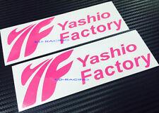 Yashio Factory Sticker Decal C-Ser Silvia S14 S15 350Z 86 WRX FREE SHIPPING x 2