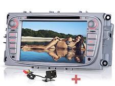 """Für FOUD C-Max Transit Fiesta Galaxy 7"""" Autoradio Navi GPS 2 DIN Rückfahrkamera+"""