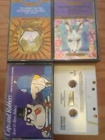 4x AUDIO CASSETTE TAPES- HEIDI,COPS N ROBBERS,THE HOBBITT,THE TEMPEST