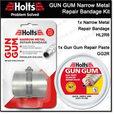 Holts Gun Gum Narrow Metal Exhaust Straight Repair Bandage & Paste Kit HL2R6