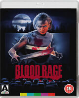 Blood Rage DVD (2017) Louise Lasser, Grissmer (DIR) cert 18 2 discs ***NEW***