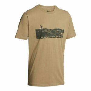 Northern Hunting Stein T-Shirt Sandfarben Outdoorshirt