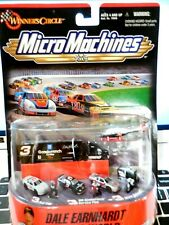 Micro Machines, Dale Earnhardt Racing World, 1999, Pit Crew,Cars,Transport,Helo