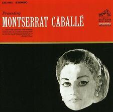 Montserrat Caballe - Presenting Montserrat Caballe [New CD]