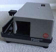 Leica Pradovit P2002 Slide Projector