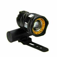 Luz delantera de bicicleta impermeable XML T6 LED 3 modos  Recargable USB Zoom