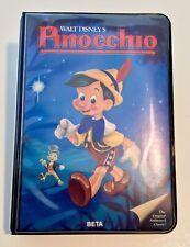 Rare Walt Disney Pinocchio (Betamax) Black Diamond Series