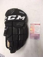 Leon Draisaitl Edmonton Oilers Autographed Signed CCM CL500 Pro Glove JSA COA