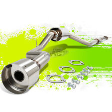 "FORD FOCUS ZETEC HATCH STAINLESS STEEL CATBACK EXHAUST SYSTEM 4.5"" MUFFLER TIP"