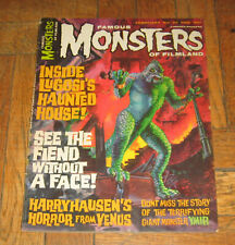 FAMOUS MONSTER OF FILMLAND  # 37  FEB. 1965  WARREN