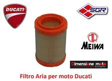 """4494 - Filtro Aria """"MEIWA"""" tipo originale per DUCATI Hypermotard 821 dal 2013"""