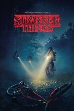 STRANGER THINGS - TV SHOW POSTER 24x36 - BIKES 51993