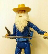 Johnny West BEARD Marx GI Joe 'The Old Soldier' Santa Claus Classic Plastick