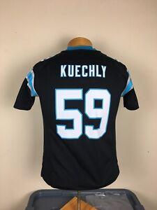 Nike On Field Carolina Panthers #59 Luke Kuechly NFL Jersey Youth Sz Medium