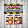 Personalised Chocolate Bar - Self isolation - Quarantine - Stay at home - Gift