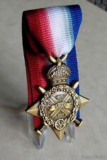 U.K British Armed Forces World War I Campaign The 1914 Star Mons Star Medal