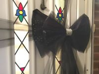 Baby Christmas  GREEN /& CREAM Christening Deluxe Door bow Wedding