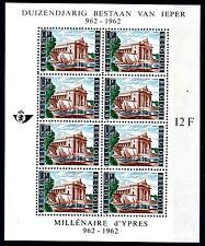 (B) blok BL33 MNH** 1962 - Ieper
