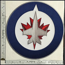 "8"" Winnipeg Jets NEW LOGO Patch ICE HOCKEY Canada Thrashers Manitoba CF18 BADGE"