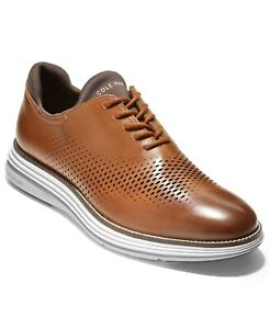 COLE HAAN OG ULTRA LASER OX - BRITISH-TAN/IVORY -SZ 11 M