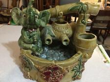 Happy Elephant Pottery Planter