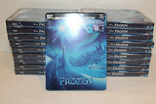 Frozen 4K Ultra HD + Blu-ray Digital Copy Steelbook Bestbuy Exclusive New Sealed