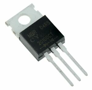 5 x MBR20100CT Schottky Barrier Rectifier Diode 20A 100V
