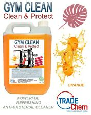 Gym Equipment Cleaning Solution - Anti-Bacterial Sanitizer - 5L - Orange
