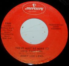 Jerry Lee Lewis 45 There Must Be More To Love Than This / Home Away From Home