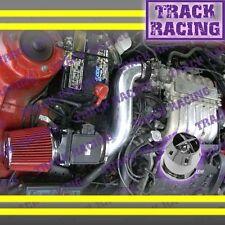 91-99 MITSUBISHI 3000GT GTO DODGE STEALTH NT 3.0L V6 AIR INTAKE+CHF Black Red
