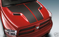 2009 2010 2011 2012 2013 Dodge Ram Mopar Hood Carbon Fiber Decal  82211882AB