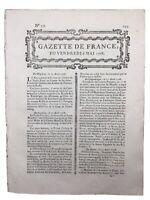 Mussey sur Marne en 1768 Catherine de Russie Londres Wilkes Royaume Uni Virloys