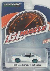 1:64 GreenLight 78 Ford Mustang II King Cobra GL Muscle Series 21 Green Machine
