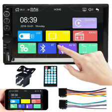 Radio Audio Car  Stereo 2 Din Mirror Link Bluetooth+ MP4 MP5+Backup Camera