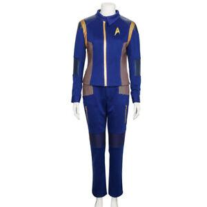 Star Trek Discovery Cadet Sylvia Tilly Cosplay Costume Woman Crewman Uniform