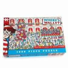 Where's Wally Gaye Paree 1000 Piece Family Jigsaw Puzzle UG5975