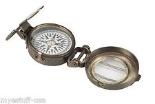 Authentic Models CO014 WWII Replica Brass Pocket Compass
