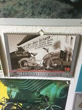DDR Moped. De Kalender Simson SR1 SR 1 Usw. Schwalbe Star Spatz Sperber