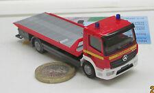 """Herpa  091923  Mercedes-Benz Atego Plateau-Abschleppfahrzeug """"Feuerwehr"""""""