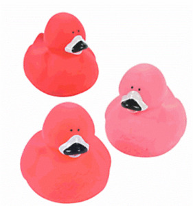 Flamingo Duck Set of 3      (Free Shipping with 6 or more items)