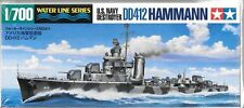 Tamiya US Navy Destroyer DD-412 USS HAMMANN in 1/700  31911 ST