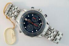 Men's Omega Seamaster 212.30.44.50.03.001 Diver 300m Chronograph Ceramic Blue